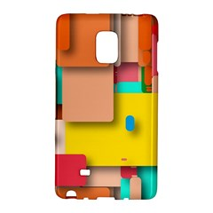 Rounded Rectangles Galaxy Note Edge by hennigdesign