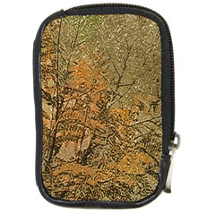 Floral Grunge Compact Camera Cases by dflcprints