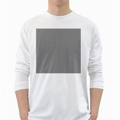 Modern Design 3 White Long Sleeve T Shirts by timelessartoncanvas