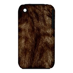 Silber Tiger Fur Apple Iphone 3g/3gs Hardshell Case (pc+silicone) by timelessartoncanvas