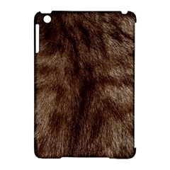 Silber Tiger Fur Apple Ipad Mini Hardshell Case (compatible With Smart Cover) by timelessartoncanvas