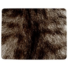 Black And White Silver Tiger Fur Jigsaw Puzzle Photo Stand (rectangular) by timelessartoncanvas