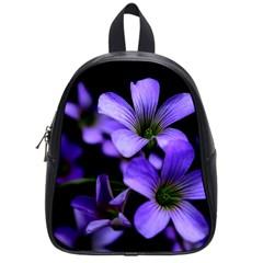 Springtime Flower Design School Bags (small)  by timelessartoncanvas
