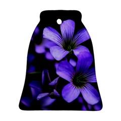 Springtime Flower Design Bell Ornament (2 Sides) by timelessartoncanvas