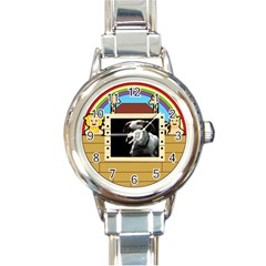 But The Pit Bull Round Italian Charm Watches by ButThePitBull