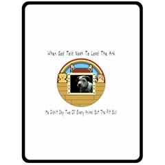 But The Pit Bull Fleece Blanket (large)  by ButThePitBull