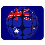 Australia Double Sided Flano Blanket (Medium)