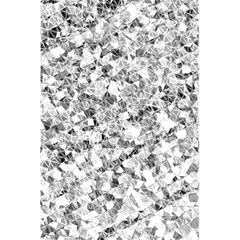 Silver Abstract Design 5 5  X 8 5  Notebooks by timelessartoncanvas