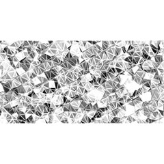 Silver Abstract Design You Are Invited 3d Greeting Card (8x4)  by timelessartoncanvas