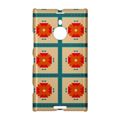 Shapes In Squares Pattern 			nokia Lumia 1520 Hardshell Case by LalyLauraFLM