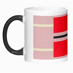 Rectangles In Retro Colors  Morph Mug by LalyLauraFLM