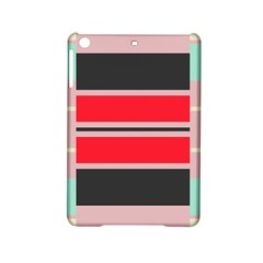 Rectangles In Retro Colors  			apple Ipad Mini 2 Hardshell Case by LalyLauraFLM