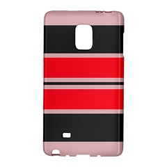 Rectangles in retro colors  			Samsung Galaxy Note Edge Hardshell Case by LalyLauraFLM