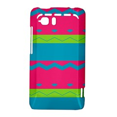 Chevrons and stripes  			HTC Vivid / Raider 4G Hardshell Case by LalyLauraFLM