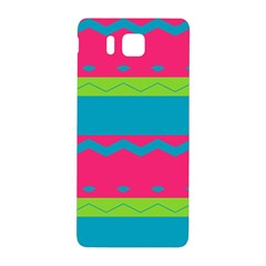 Chevrons and stripes  			Samsung Galaxy Alpha Hardshell Back Case by LalyLauraFLM
