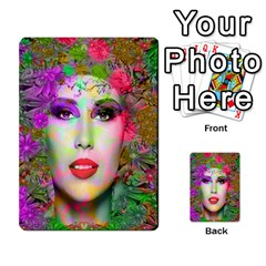 Flowers In Your Hair Multi Purpose Cards (rectangle)  by icarusismartdesigns