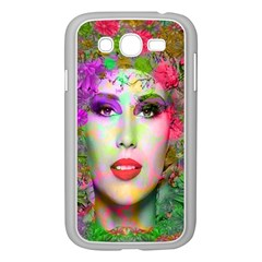 Flowers In Your Hair Samsung Galaxy Grand Duos I9082 Case (white) by icarusismartdesigns