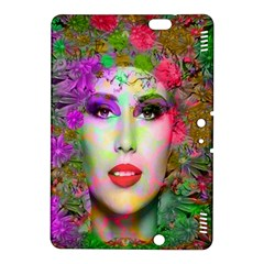 Flowers In Your Hair Kindle Fire Hdx 8 9  Hardshell Case by icarusismartdesigns