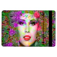 Flowers In Your Hair Ipad Air Flip by icarusismartdesigns