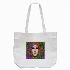 Flowers In Your Hair Tote Bag (white) by icarusismartdesigns