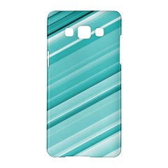 Teal And White Fun Samsung Galaxy A5 Hardshell Case  by timelessartoncanvas