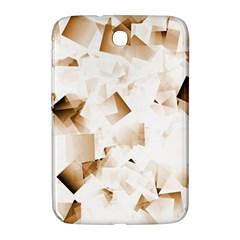 Modern Brown Cubes Samsung Galaxy Note 8 0 N5100 Hardshell Case  by timelessartoncanvas