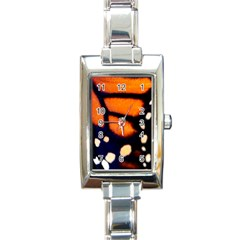 Butterfly Design 2 Rectangle Italian Charm Watches by timelessartoncanvas