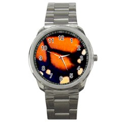 Butterfly Design 2 Sport Metal Watches by timelessartoncanvas