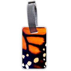 Butterfly Design 2 Luggage Tags (one Side)  by timelessartoncanvas