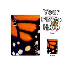 Butterfly Design 2 Playing Cards 54 (Mini)  by timelessartoncanvas
