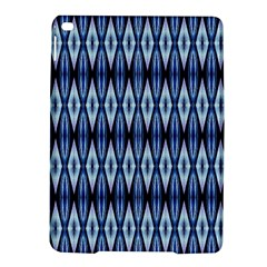 Blue White Diamond Pattern  Ipad Air 2 Hardshell Cases by Costasonlineshop