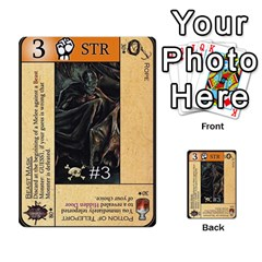 Dungeon Of D 1 Of 2 By Caleb Goerzen   Multi Purpose Cards (rectangle)   3f3chs1bzssq   Www Artscow Com Front 52