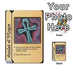 Dungeon Of D 1 Of 2 By Caleb Goerzen   Multi Purpose Cards (rectangle)   3f3chs1bzssq   Www Artscow Com Front 27