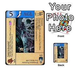 Dungeon Of D 1 Of 2 By Caleb Goerzen   Multi Purpose Cards (rectangle)   3f3chs1bzssq   Www Artscow Com Front 41