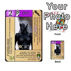 Dungeon Of D 2 Of 2 By Caleb Goerzen   Multi Purpose Cards (rectangle)   R6jeixacebr4   Www Artscow Com Front 17