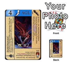 Dungeon Of D 2 Of 2 By Caleb Goerzen   Multi Purpose Cards (rectangle)   R6jeixacebr4   Www Artscow Com Front 32