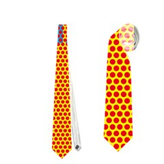 Comic Book Wham Dots Neckties (two Side)  by ComicBookPOP
