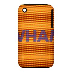 Comic Book Wham Dots Apple iPhone 3G/3GS Hardshell Case (PC+Silicone) by ComicBookPOP