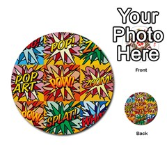 Comic Book Multiple Multi Purpose Cards (round)  by ComicBookPOP