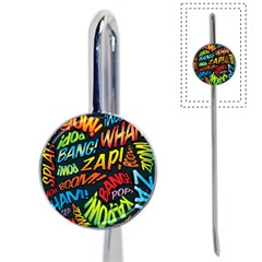 Comic Book Sounds Book Mark by ComicBookPOP
