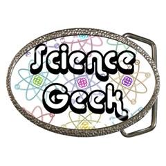 Science Geek Belt Buckles by ScienceGeek