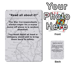 Sudan 3 By Dave Docherty   Multi Purpose Cards (rectangle)   Zlyx8i34p4pl   Www Artscow Com Back 40