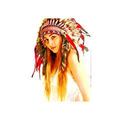 Indian 26 Shower Curtain 60  X 72  (medium)  by indianwarrior