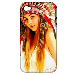 Indian 26 Apple Iphone 4/4s Hardshell Case (pc+silicone) by indianwarrior
