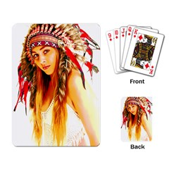 Indian 26 Playing Card by indianwarrior