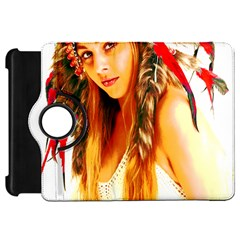 Indian 26 Kindle Fire Hd Flip 360 Case by indianwarrior