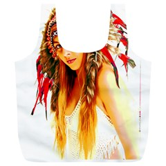 Indian 26 Full Print Recycle Bags (l)  by indianwarrior