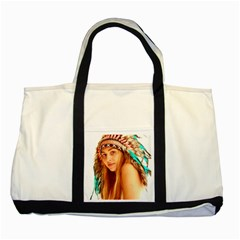 Indian 27 Two Tone Tote Bag by indianwarrior