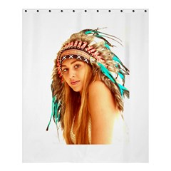 Indian 27 Shower Curtain 60  X 72  (medium)  by indianwarrior