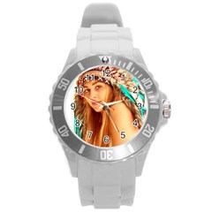 Indian 27 Round Plastic Sport Watch (l) by indianwarrior